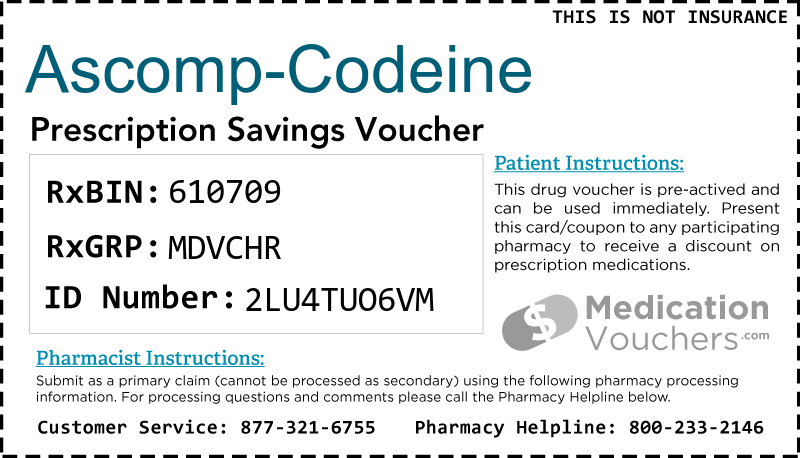 ASCOMP-CODEINE Voucher Coupon
