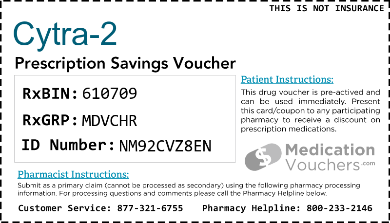 CYTRA-2 Voucher Coupon
