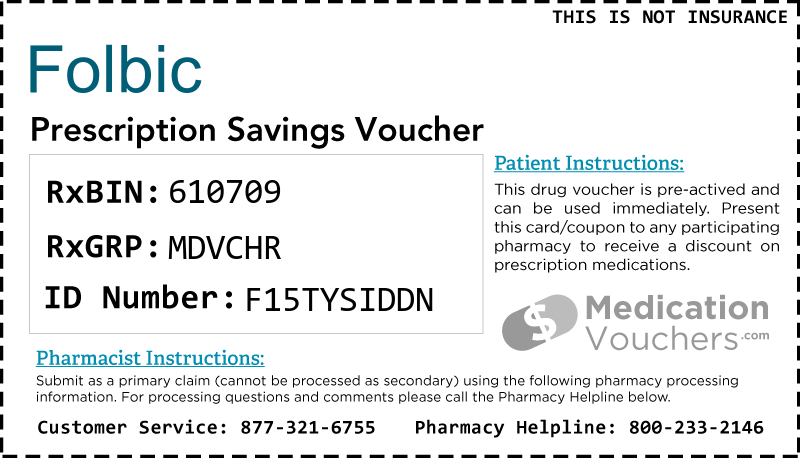 FOLBIC Voucher Coupon