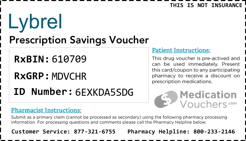 LYBREL Voucher Coupon