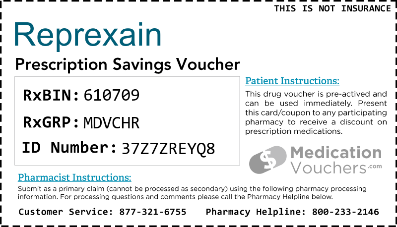 REPREXAIN Voucher Coupon