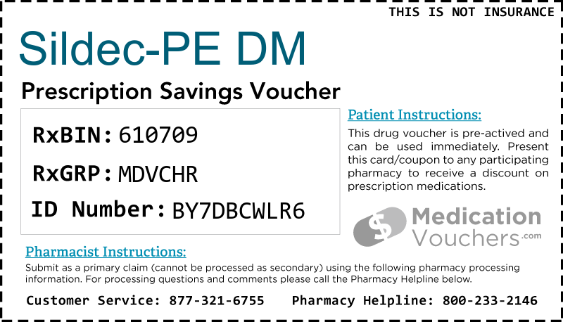 SILDEC-PE DM Voucher Coupon