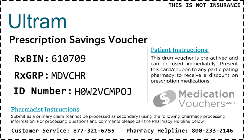 ULTRAM Voucher Coupon